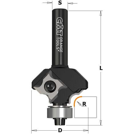 661.04 FRAISES POUR QUART DE ROND AVEC PLAQUETTES REVERSIBLES