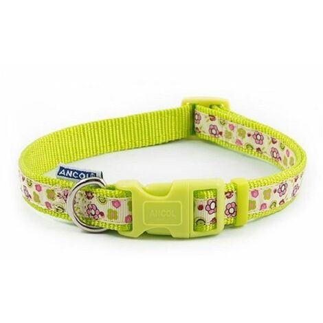 671630 - Flower Safety Cat Collar Lime