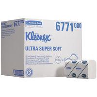 6771 Kleenex Ultra Soft H /towels Med Wht 30 Sleeve
