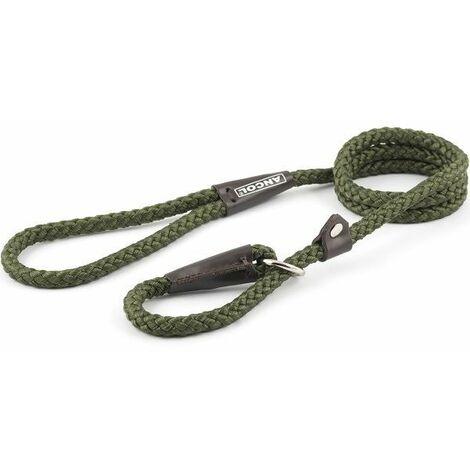 "main image of ""681130 - Heritage Nylon Rope Slip Ld Grn 120cmX10mm"""