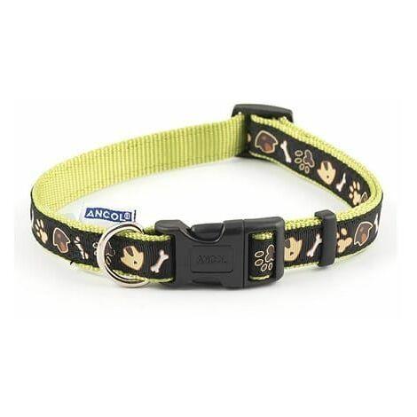 688530 - Dog & Kennel Nylon & Ribbon Adj Coll 30-50cm Sz2-5