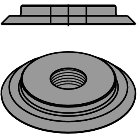 695.996 695 - THREADED RINGS FOR 694.001 CUTTER HEAD SERIES