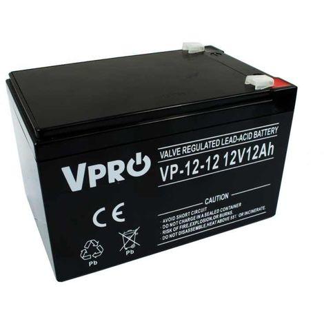 6AKUAGM012 AGM 12V 12Ah batterie