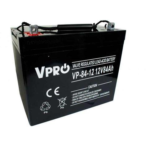6AKUAGM084 AGM 12V 84Ah batterie