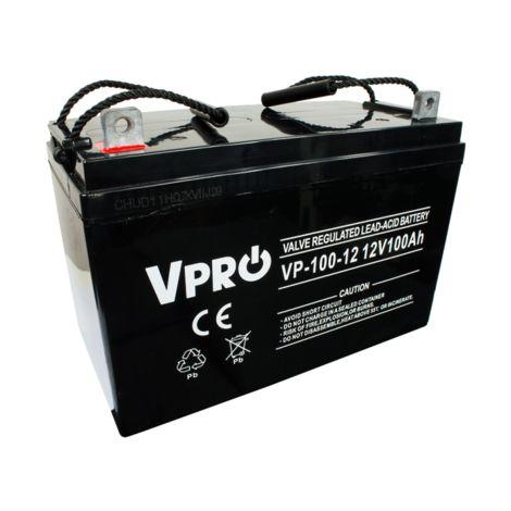 6AKUGEL100 Gel batterie 12V 100Ah solaire
