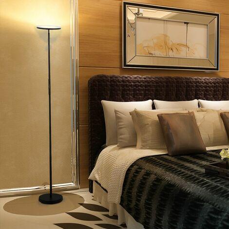 Lampadaire LED Dimmable Variable 300K-4000K-5000K Lampe Lampadaire Démontable avec Télécommande Lampe pour Salle à Mange, Salon, Chambre