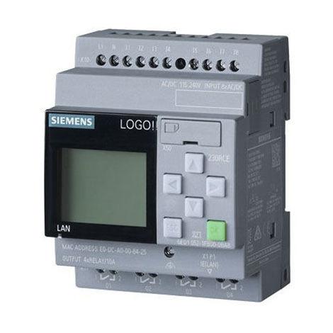 6ED1052-1FB08-0BA0 LOGO-8 8-E/A+4-E/D 4-S/D 115/230V CON DISPLAY