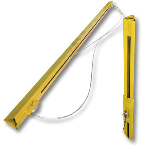 6ft 140cm Extension bar for Pro Drywall Lift & Sheetrock Lifter Panel Hoist max. 150LBS