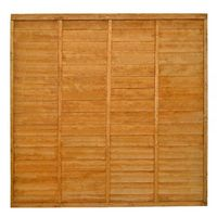 6ft High Lap Fence Panel
