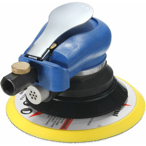 6inch Orbital Sander Polisher Grinding Machine Includes 8pcs Sanding Papers and Wrench
