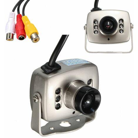 6LEDs Night Vision Mini Wired Security Camera CMOS HD CCTV Hidden Spy Camera Recorder