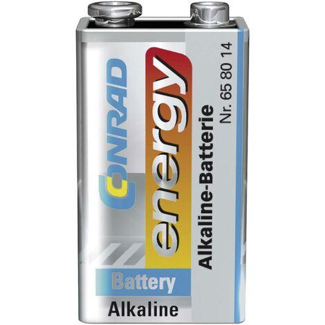 6LR61 9V Block-Batterie Alkali-Mangan 9V 1St. X36791