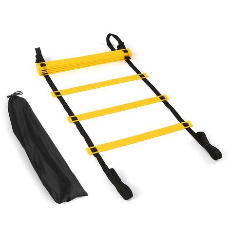 6M 12 Barreaux Speed ??Ladder Agility Avec Le Sac Carry Pour La Formation Du Football Du Football