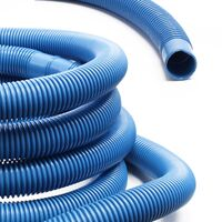 """6m Swimming Pool Hose Vacuum Sleeve - 190g/m 1.5"""""""" 1 1/2 Inch - Made in Europe"""