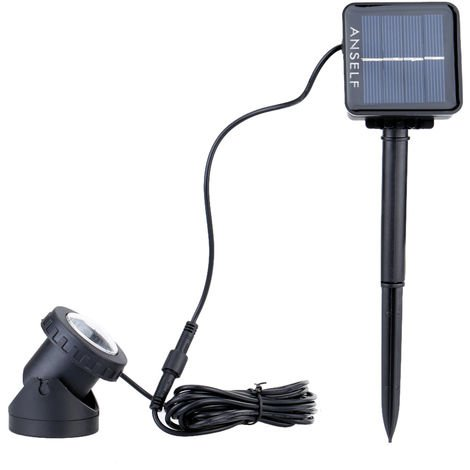 6pcs LED Solar Power Light Outdoor Landscape Lighting Waterproof Diving Light