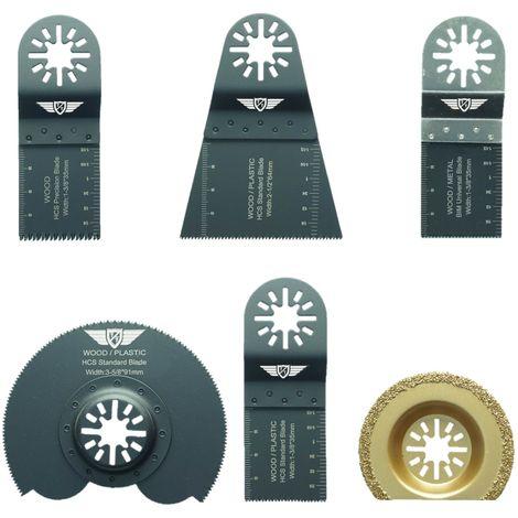 6pcs TopsTools Mix Multitool Blade Kit - UNKA6