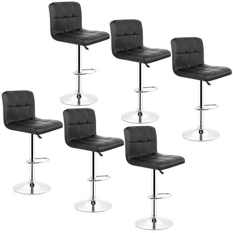 6*tabourets de bar chaise fauteuil 6 treillis noir tabouret bistrot américain