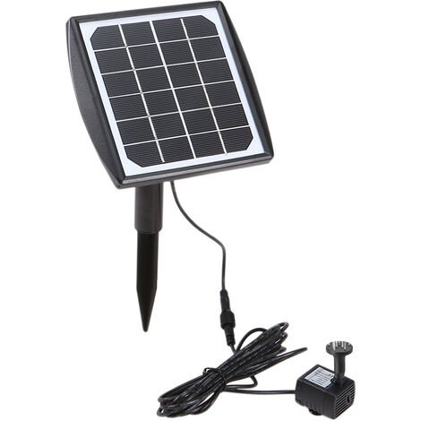 6V/2W solar fountain (direct drive) BSV-SP020