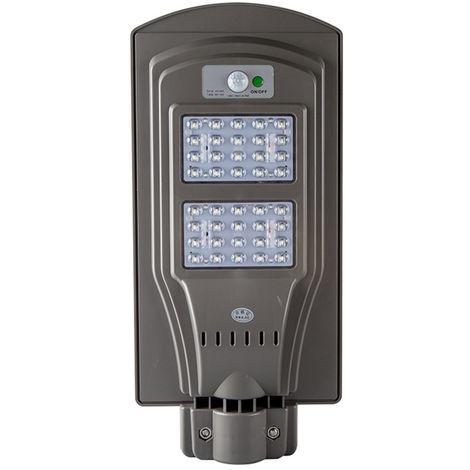 6V LED Solar Powered Wall Street Light PIR Motion Outdoor Garden Lamp