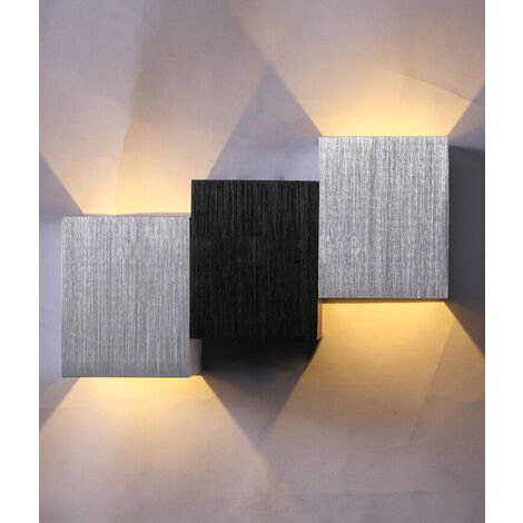 6W Modern Wall Sconce Wall Lamp LED Indoor Wall Light for Living Room Corridor Warm White