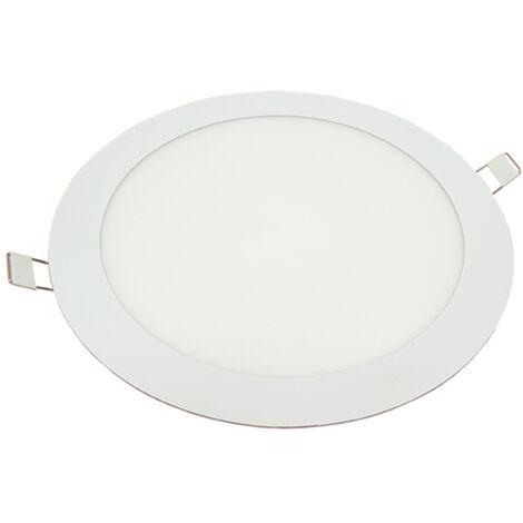 6W Panel LED empotrable - Redondo 6400K Ø120