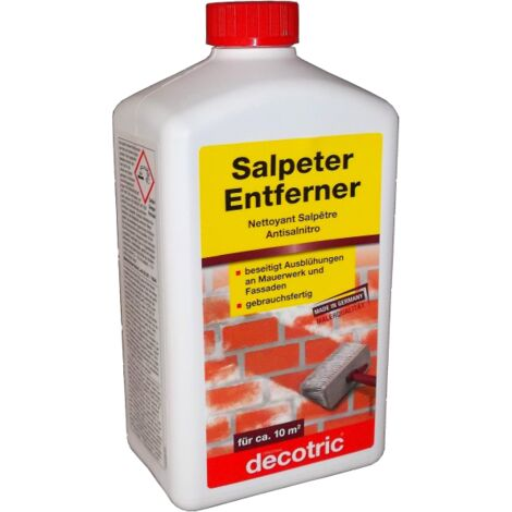 Extrem 6x 1L Salpeterentferner Ausblühungen entfernen - BAUF321010X6 DU27
