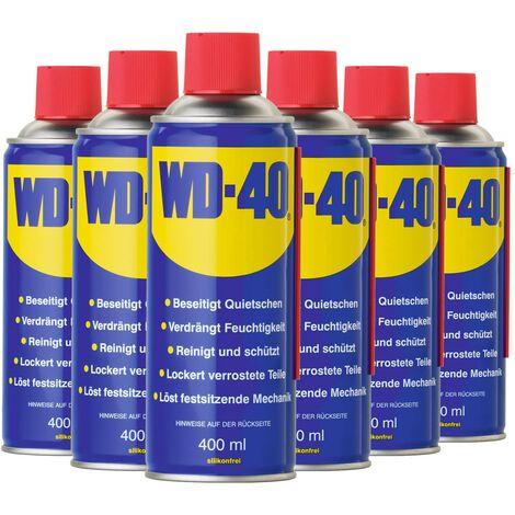 6x 400ml WD-40 Multifunktionsöl Vielzweck-Spray Rostlöser Pflege