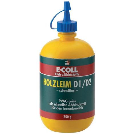 6x E-COLL Holzleim D1/D2 schnellfest 750 g