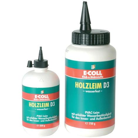6x E-COLL Holzleim D3 wasserfest 750 g