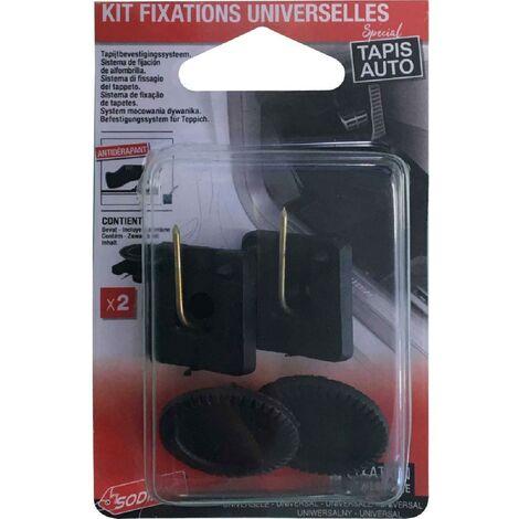 6x Kit de fixation compatible avec tapis universel x2