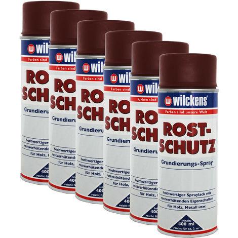 6x WILCKENS Rostschutz Grundierungspray6x16100500_140
