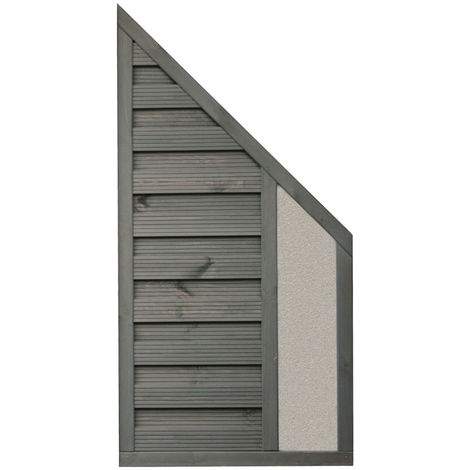 6x3 Angled Palermo Screen Solid Infill ONLY AVAILABLE WITH A PURCHASE OF 3 FENCE PANELS