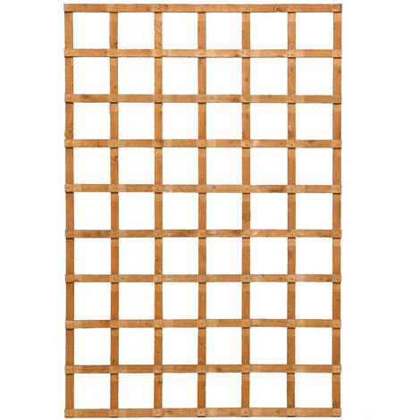 6x4 Heavy Duty Trellis Dip Treated ONLY AVAILABLE WITH A PURCHASE OF 3 FENCE PANELS