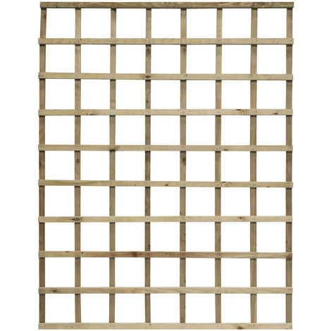 6x5 Heavy Duty Trellis Pressure Treated ONLY AVAILABLE WITH A PURCHASE OF 3 FENCE PANELS