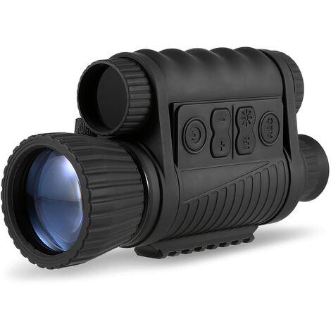 6X50 vision nocturna digital monocular 1-5x foto Ampliar la camara de video de 1,5 pulgadas TFT LCD de 5 megapixeles de fotos de video 720p 350m Distancia de la noche viendo Observacion