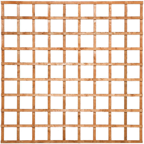 6x6 Heavy Duty Trellis Dip Treated ONLY AVAILABLE WITH A PURCHASE OF 3 FENCE PANELS