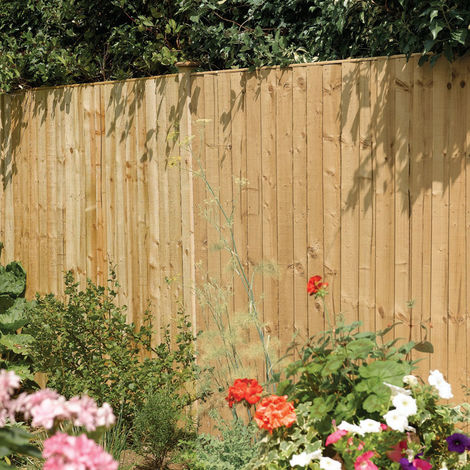 6x6 Vertical Board Panel Pressure Treated ONLY AVAILABLE WITH A PURCHASE OF 3 FENCE PANELS