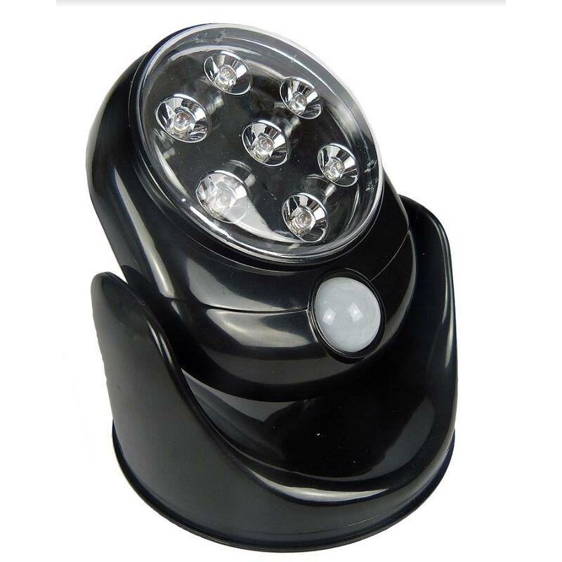 Image of 7 LED Motion Sensor Light (Black/White) - HYFIVE