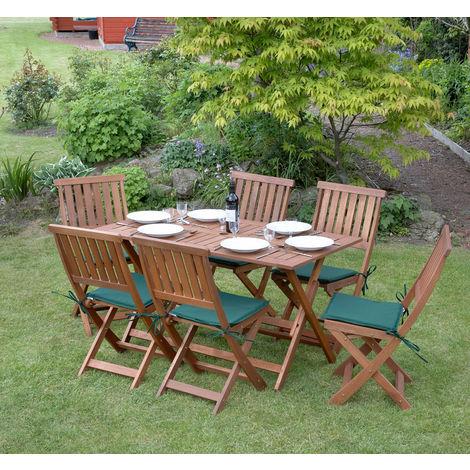 7 Piece Concord Hardwood Garden Furniture Set