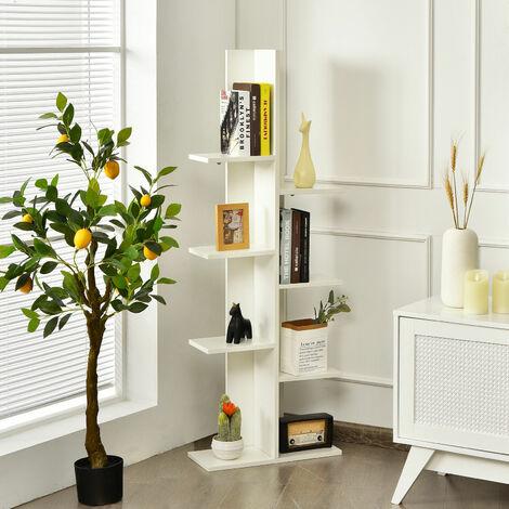 "main image of ""7 Tier Bookshelf Storage Display Rack Floor Standing Bookcase Shelving Organizer"""