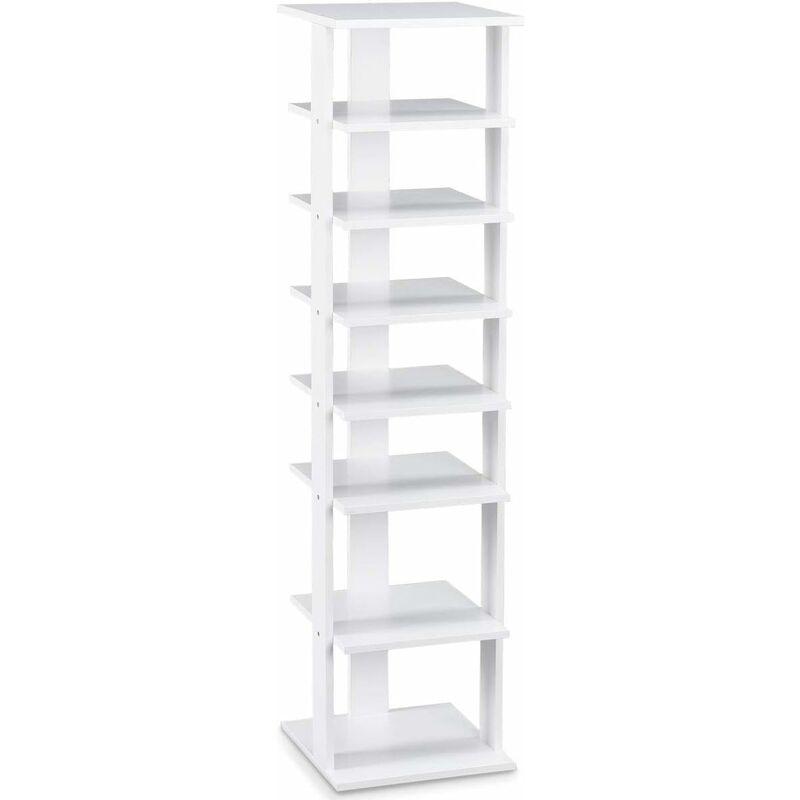 Shoe Rack 2 3 4 Tier Shelf Natural Wood Organiser Storage Stand Footwear Unit