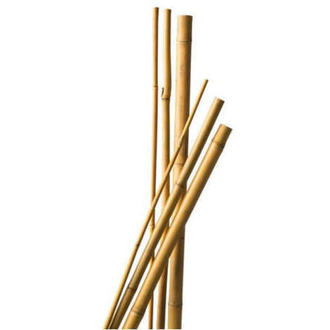 7 Tuteurs Bambou 90 cm diam 6-8 mm