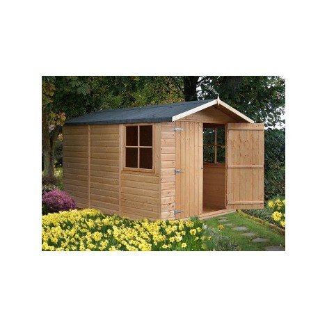 7 x 10 Guernsey Shiplap Shed With Double Doors