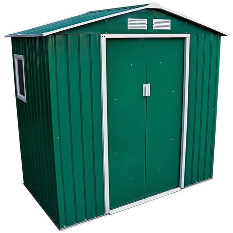 7 X 4.2ft Metal Shed