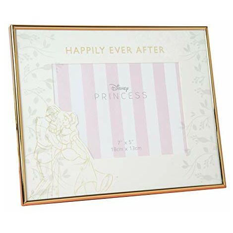 "7"" x 5"" Disney Happily Ever After Wedding Frame - Cinderella"