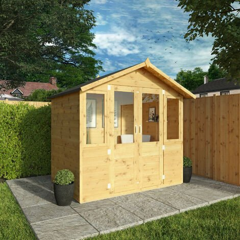 Waltons 7ft x 5ft Bournemouth Wooden Summerhouse