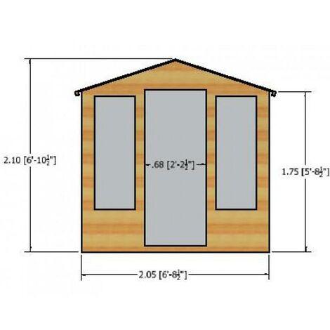 7 x 7 Chatsworth Summerhouse