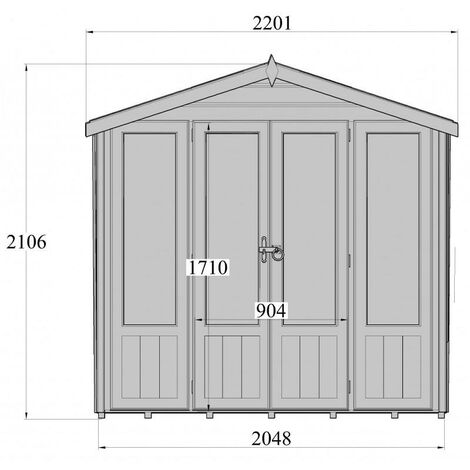 7 x 7 Parham Summerhouse