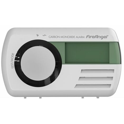 7 Year Carbon Monoxide Alarm with Digital display and sealed in battery