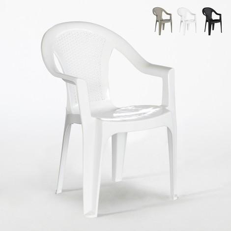 Sedie In Polipropilene Da Giardino.70 Sedie Da Esterno Tressi In Polipropilene Per Sagre E Feste Offerta Stock